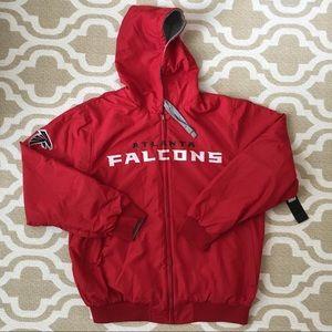 Atlanta Falcons reversible zip jacket XL